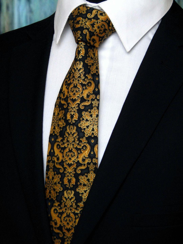 Men Necktie Skinny Paisley Necktie Fashion Necktie for Business Dances