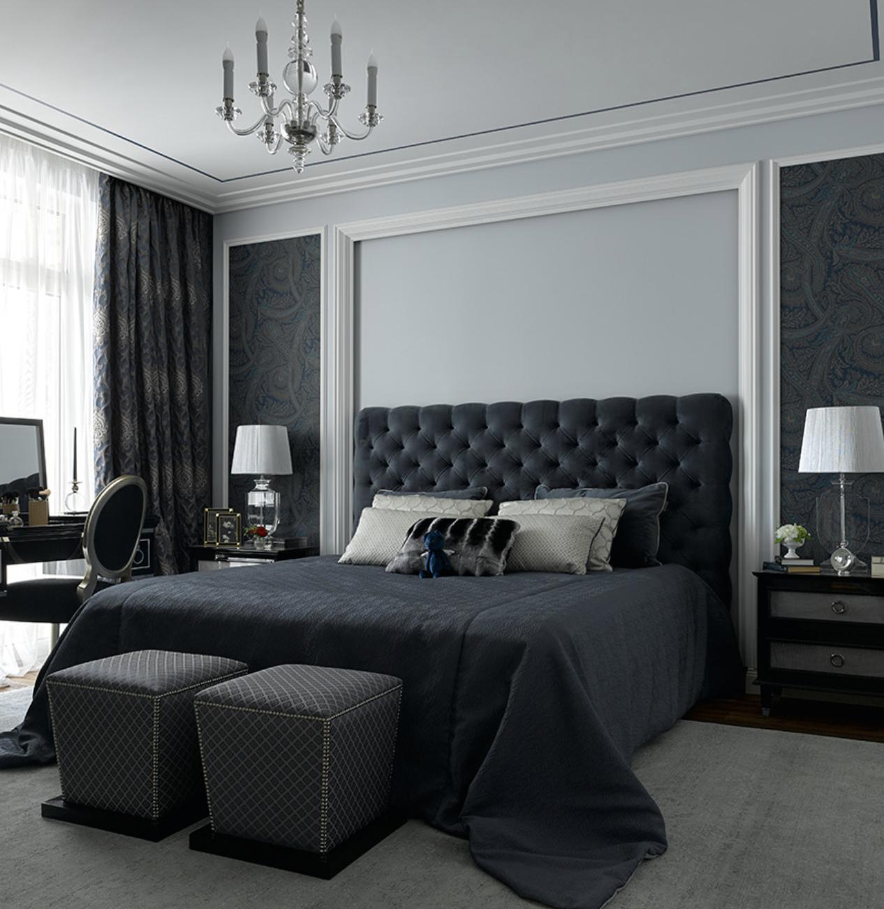 Popova Design Luxury, elegant and beautiful bark bedroom