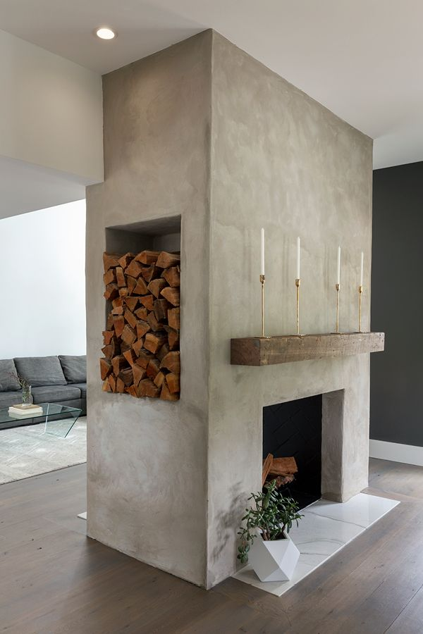 Photo of Reclaimed Wood Mantle