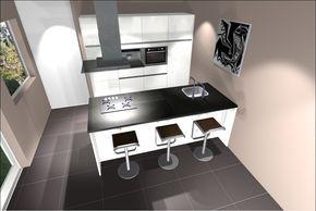 Keukeneiland T Opstelling : Een keuken met kookeiland is een veel gekozen keukenopstelling