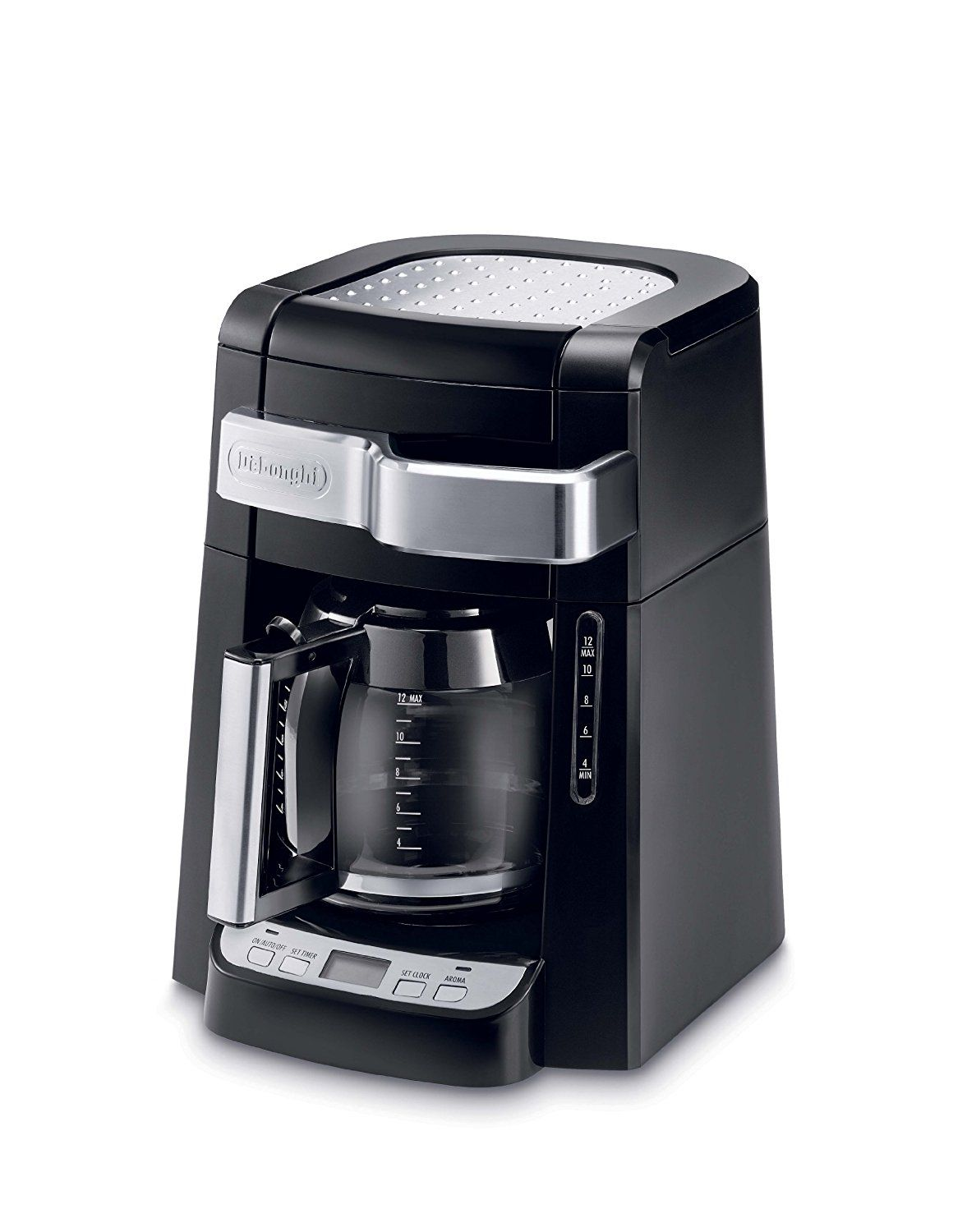DeLonghi DCF2212T 12Cup Glass Carafe Drip Coffee Maker