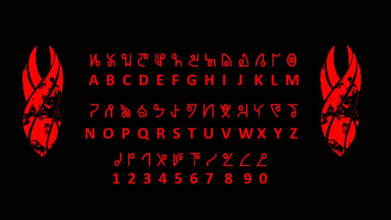 Dead space alien language codex
