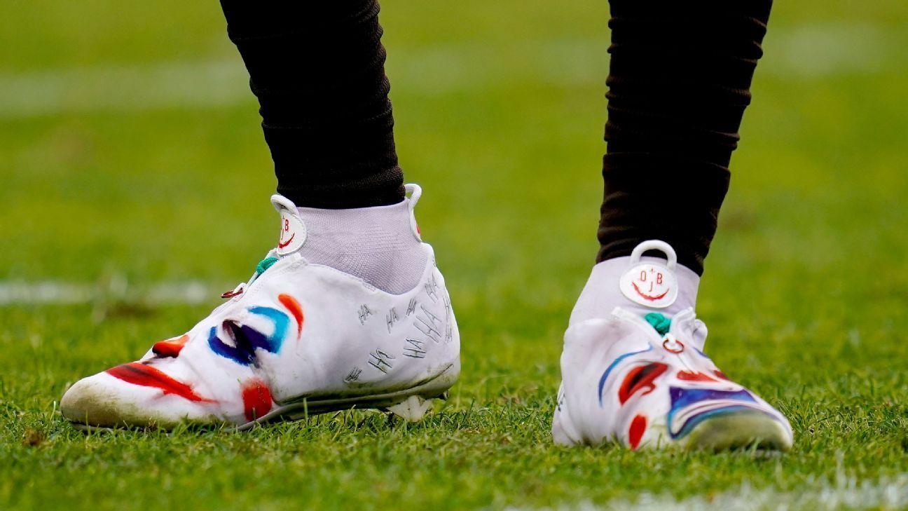 Obj Landry Told By Nfl To Change Cleats Or Sit Beckham Jr Odell Beckham Jr Girls Football Boots