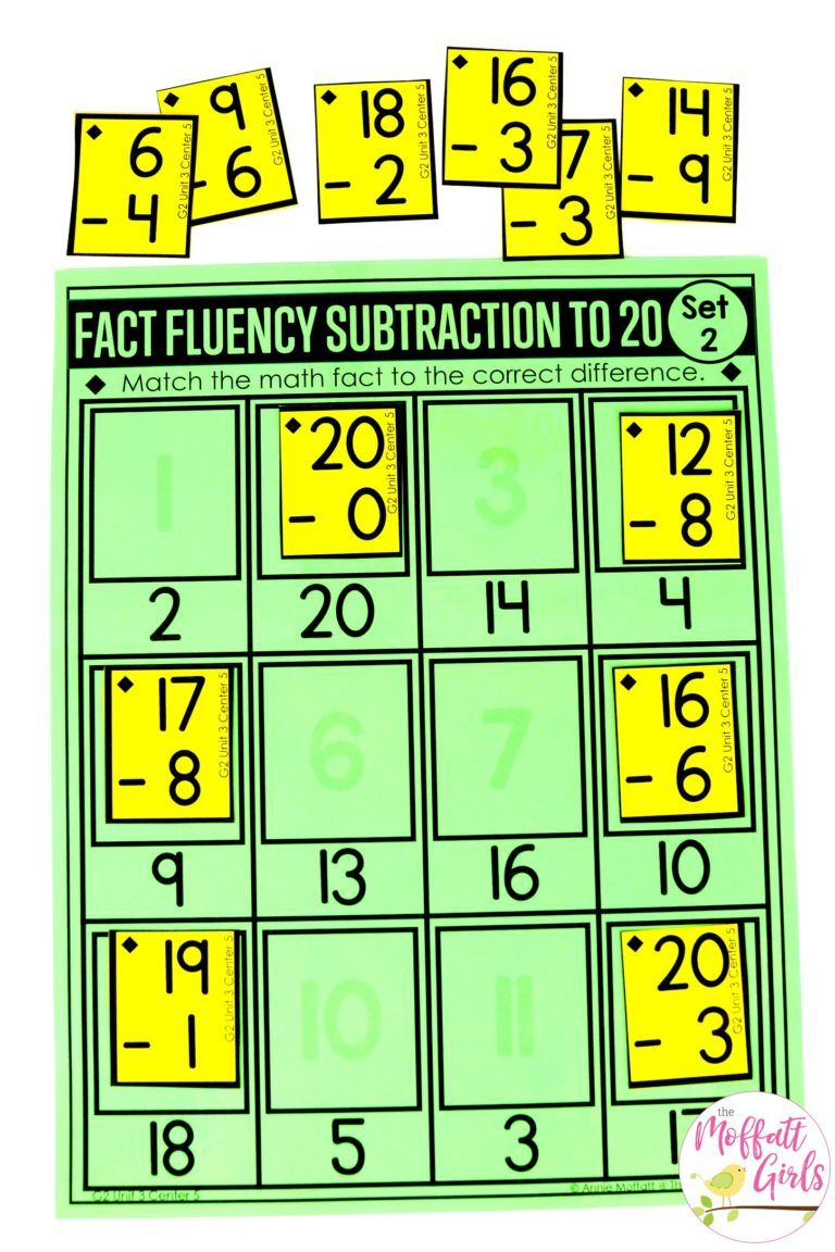 Addition And Subtraction Fluency Up To 100 For 2nd Grade Math Facts Comprehension Lesson Plans Subtraction Math addition and subtraction fluency