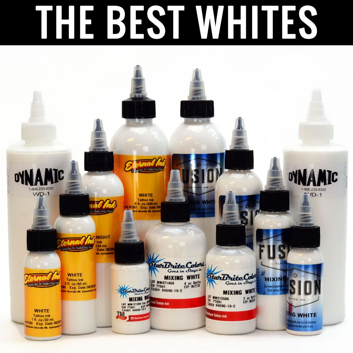 We only carry the best Tattoo Inks in the industry. Get your whites ...