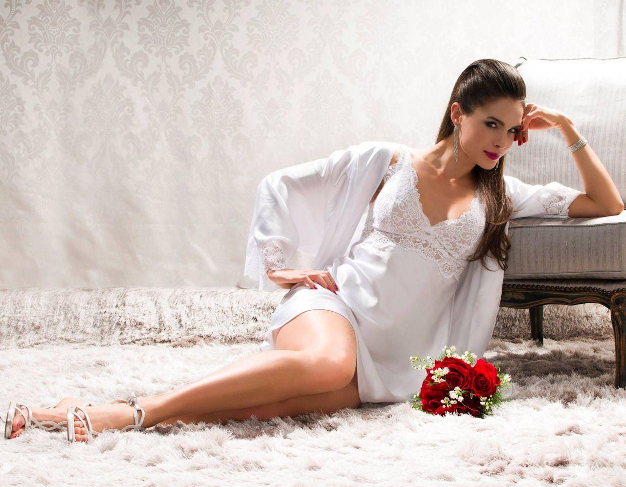#lingerie #white #Daniela Tombini