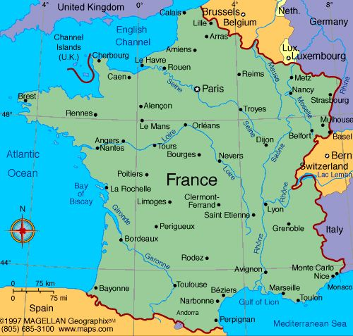 Paris Europe Map.Map Of France France French Pinterest France France Map And