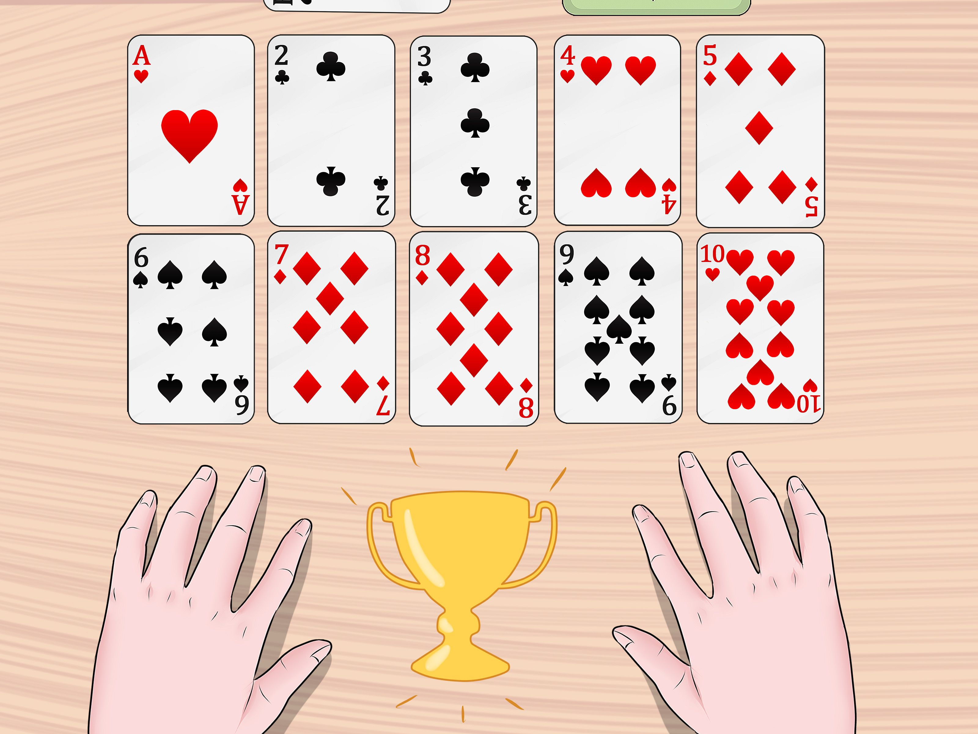 How to Play Trash. Trash is an easy card game that can be played by just  about all ages. Play it with kids to teach them about numbers or with a  group ...