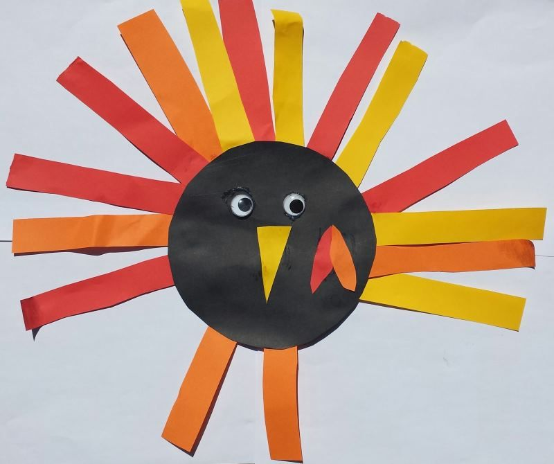 Thanksgiving Craft for Toddlers - Turkey