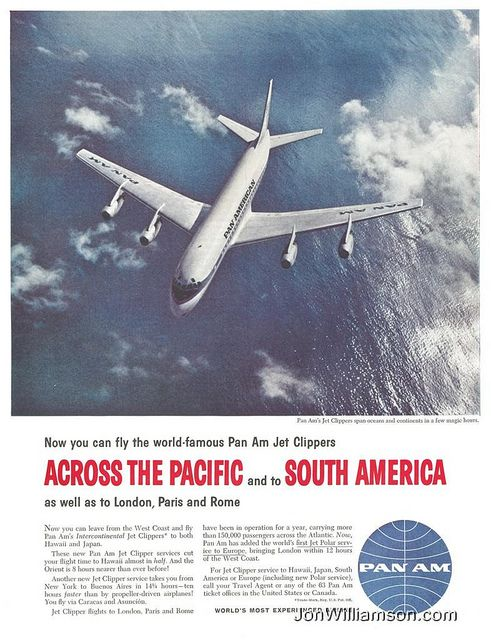 Pan Am 19590926 Post On Flickr Website Flickr Tumblr Twitter Vintage Ads Ad Advertisement 1959 Pan Am Airline Airplane Travel Adverti