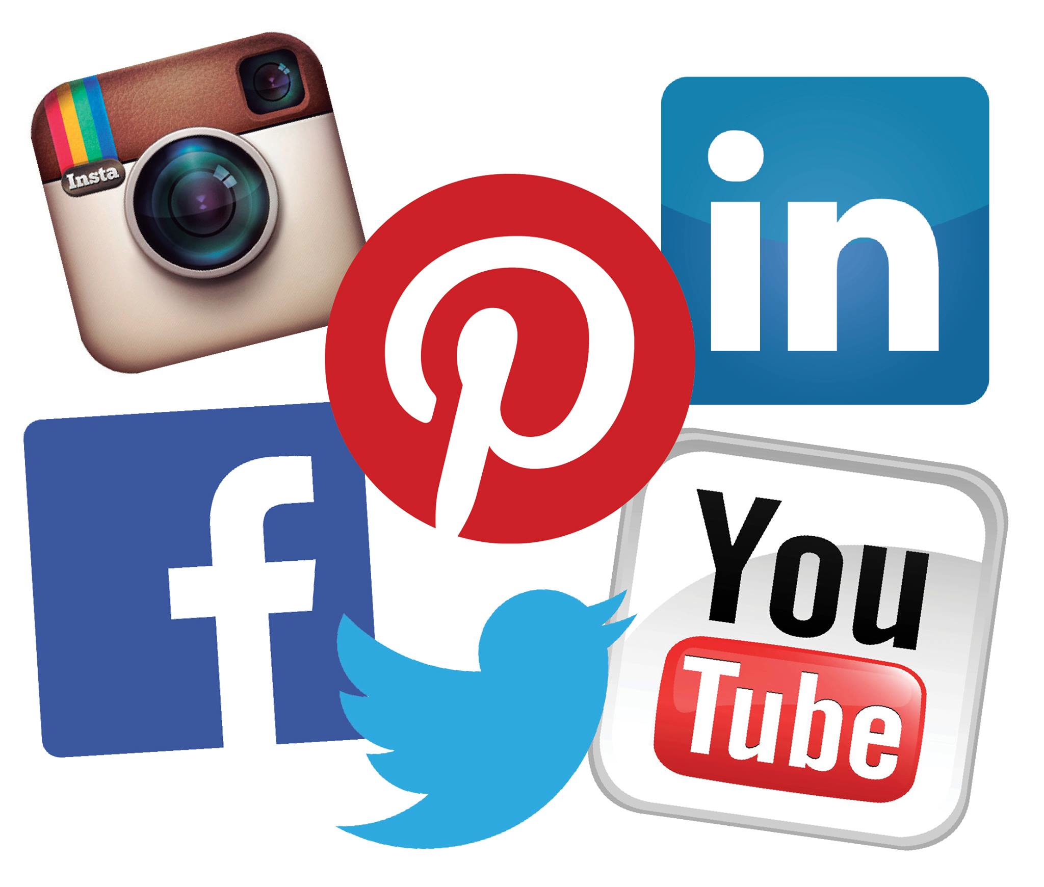 Be sure you check us out on Facebook, Twitter, Instagram, YouTube, and  LinkedIn! We love social media, and we hope you do as w… | Social media,  Social, Blog titles