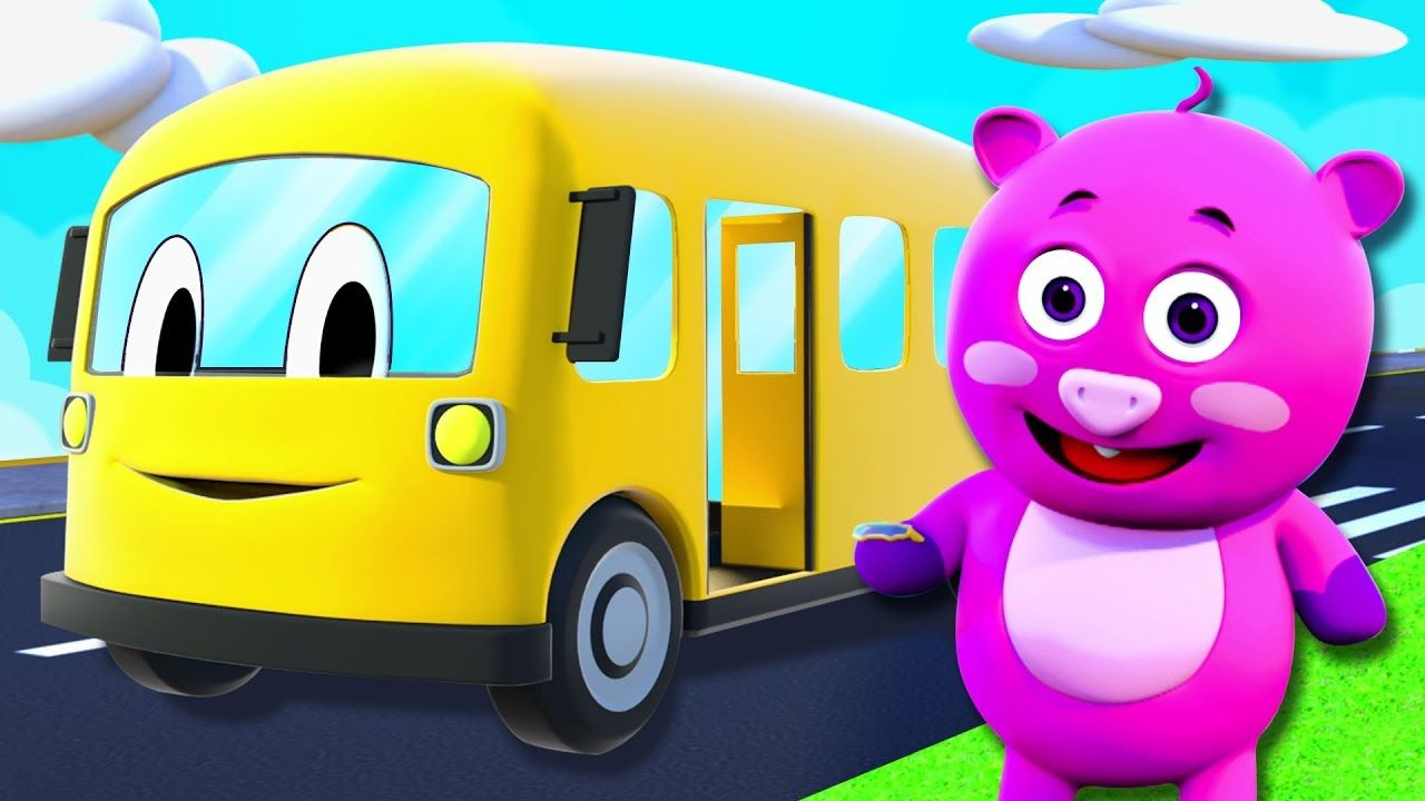 The Wheels On The Bus Go Round And Round 3d Nursery Rhymes By All Babies Channel Children Song Youtube Nursery Rhymes Baby Songs Rhymes For Babies