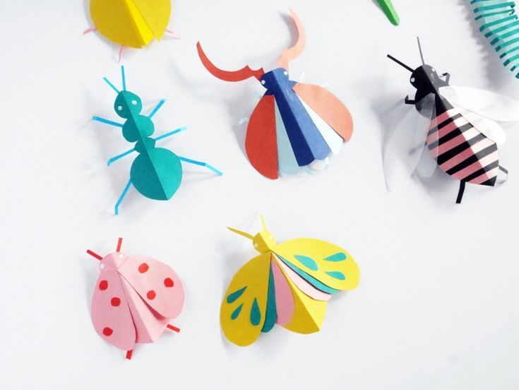 Photo of DIY PAPER BUGS HAND PUPPETS