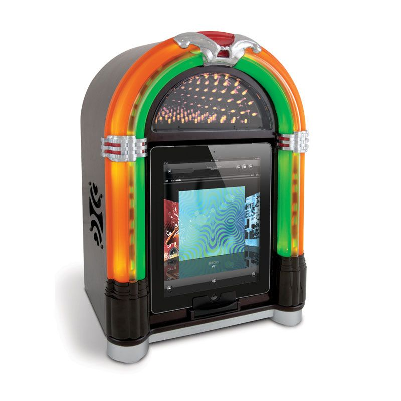 Jukebox vintage pour iPad, iPhone et iPod ! Juke box