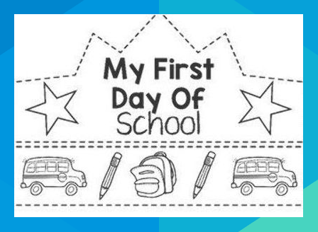 A simple back to school activity that all students will love. Just print, have students colour and cut out the two parts then assembly to make the crown. The resource includes first day crowns for Foundation, Prep, Kindergarten, Preschool, Grade One-Six, and a general first day of School crown. #lorreyhiggins1983 #firstdayofschooloutfits