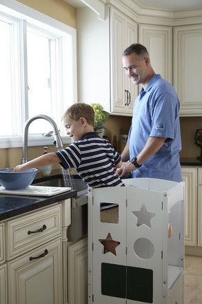 Guidecraft G97324 Kitchen Helper: White | Pinterest