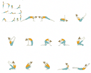 deep breathing yoga exercises in 2020  yoga sequences