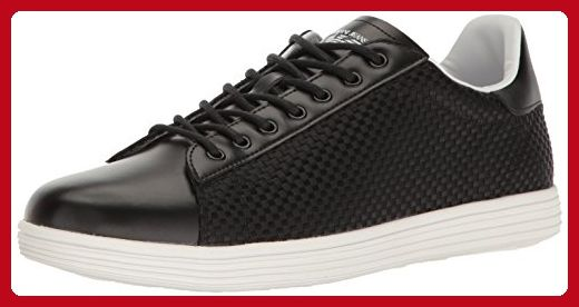 b9e54f972ee Armani Jeans Men s Basket Weave Fashion Sneaker