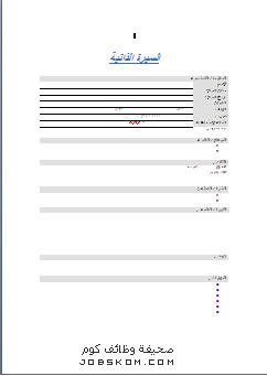 نماذج سيرة ذاتية جاهزة للتقديم بصيغة وورد باللغة العربية والانجليزية 2014 نموذج سيرة ذاتية جاهزة للتحميل لعا Cv Template Word Business Presentation Cv Template
