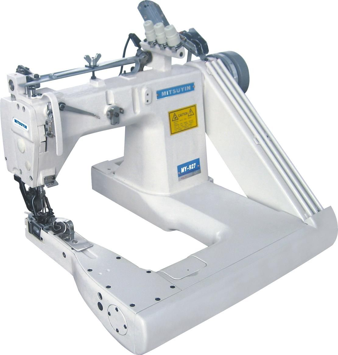 Feed Of The Arm Sewing Machine For Denim And Shirts 2 And 3 Needle Sewing Stitching Machine