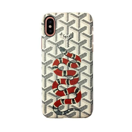 best service 79d5f 0e437 Goyard X Bart Case for iPhone X - Tomoris | Hyped Iphone Cases ...