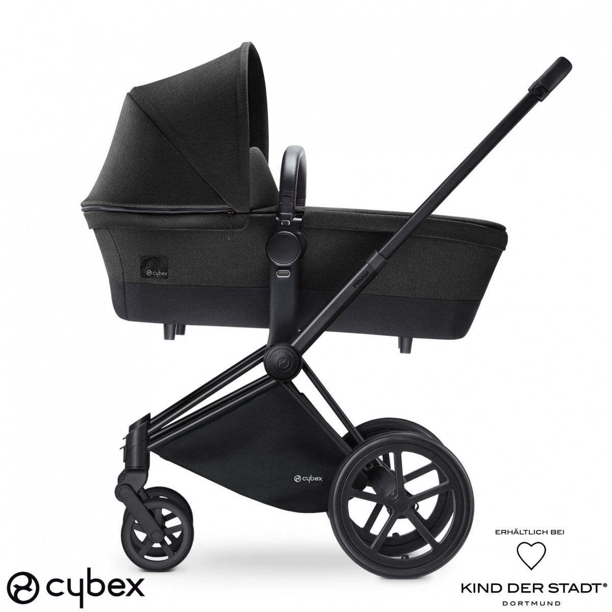 der cybex priam kinderwagen stammt aus der platinum reihe. Black Bedroom Furniture Sets. Home Design Ideas