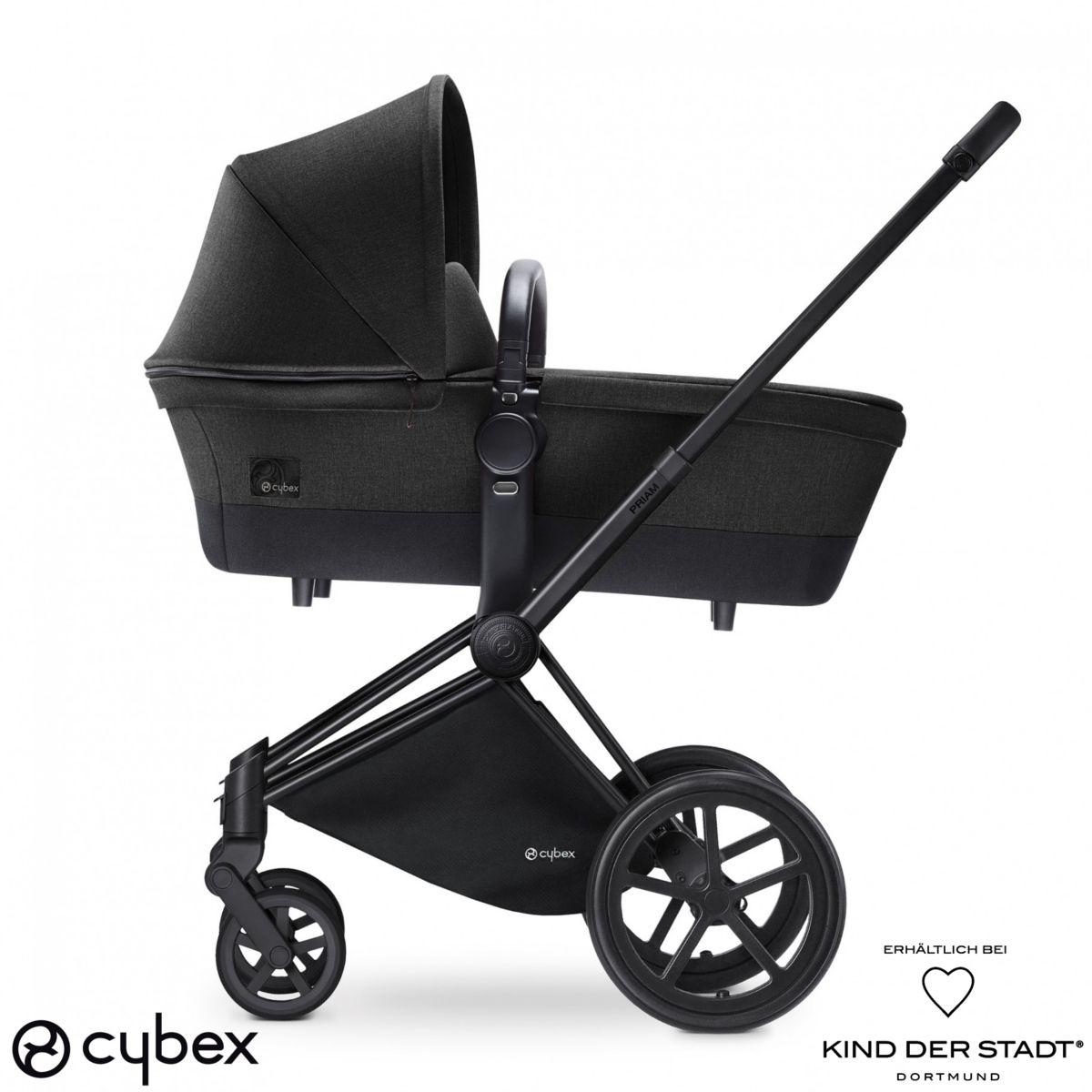 der cybex priam kinderwagen stammt aus der platinum reihe. Black Bedroom Furniture Sets. Home Design Ideas
