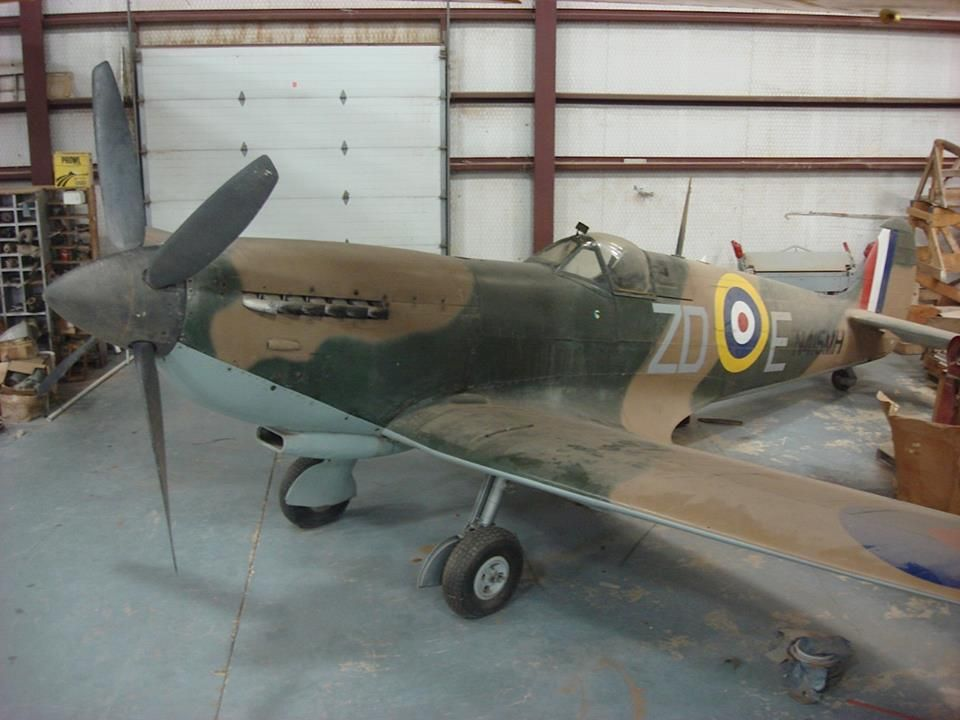 Spitfire for sale: Last flown in 1973 - http://www.warhistoryonline.com/war-articles/spitfire-sale-last-flown-1973.html