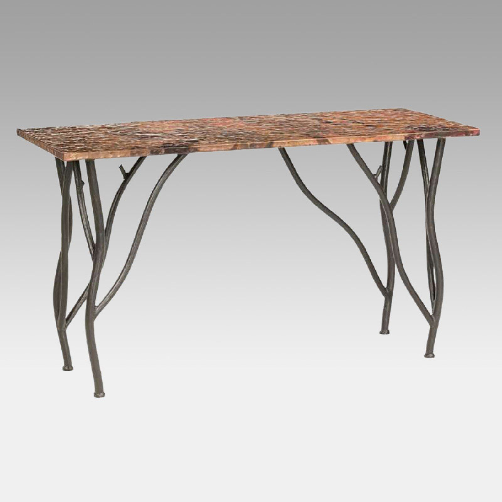 Woodland Console Table Table Console Table Wrought Iron