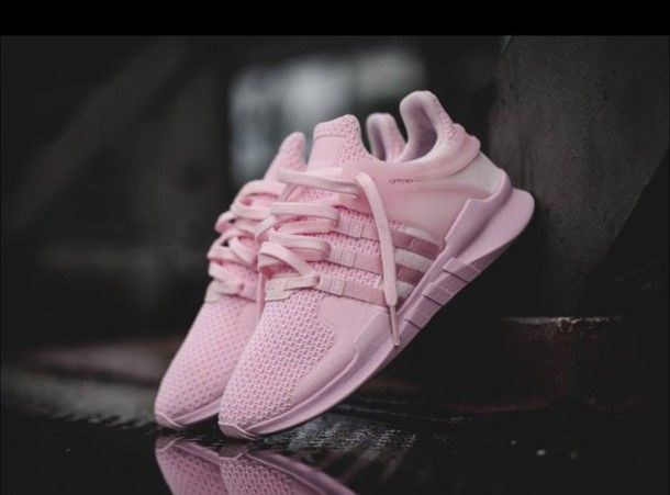 Shoes: adidas shoes, pink sneakers, low top sneakers, pink, pink shoes