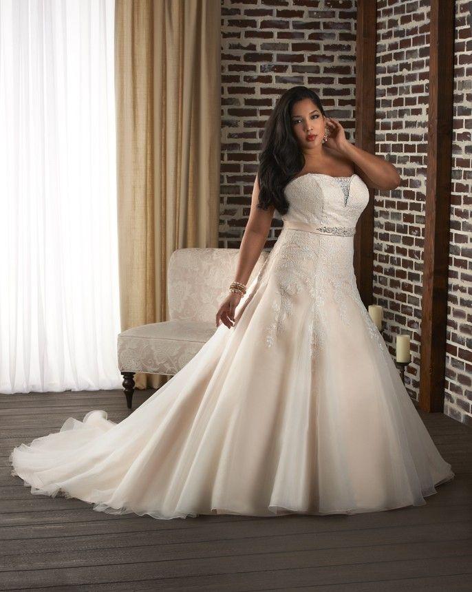 plus size wedding gown, Bonny Unforgettable Wedding Dresses - Style ...