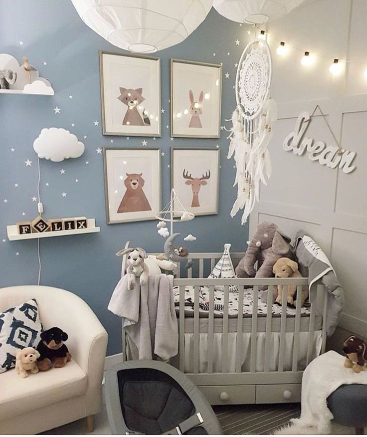 Baby Nursery 11m2 Dziecięce Sypialnie Pokój Chłopca