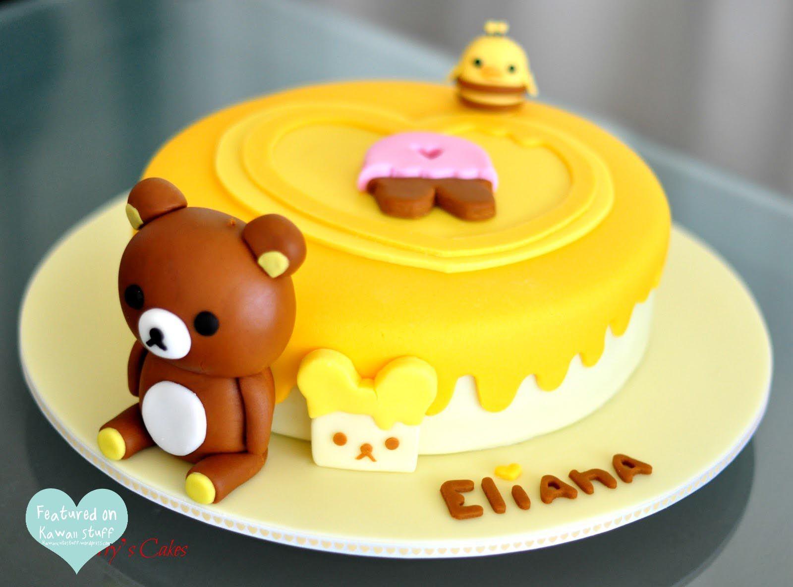 Kawaii Cake | Cake | Kawaii stuff ♥