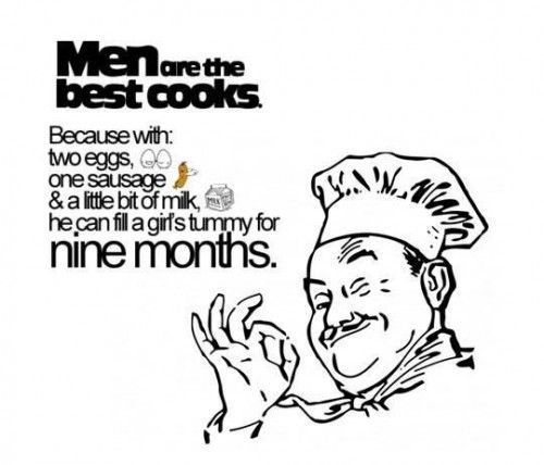 Men are the Best Cooks