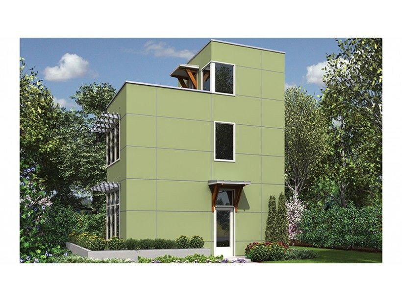 3 Story 728 Square Foot Ready To Build House Plan From Builderhouseplans