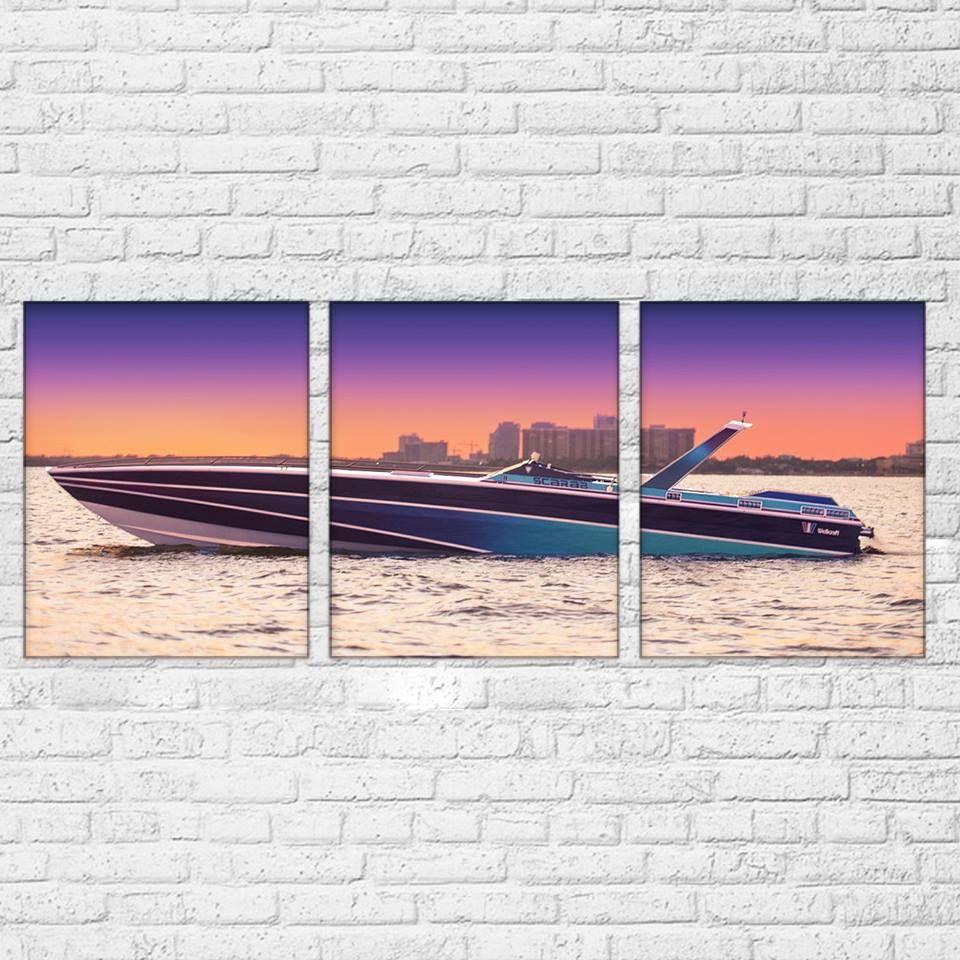 Miami Vice Scarab Canvas