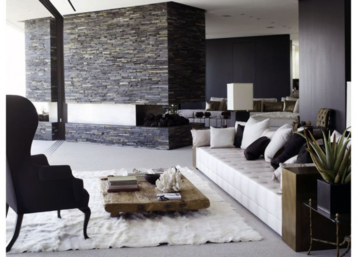 Modern Living Room Design Ideas By Richard Powers Like The Rug  An Option