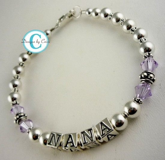 Is Purple Nana S Favorite Color She Will Love This Bracelet