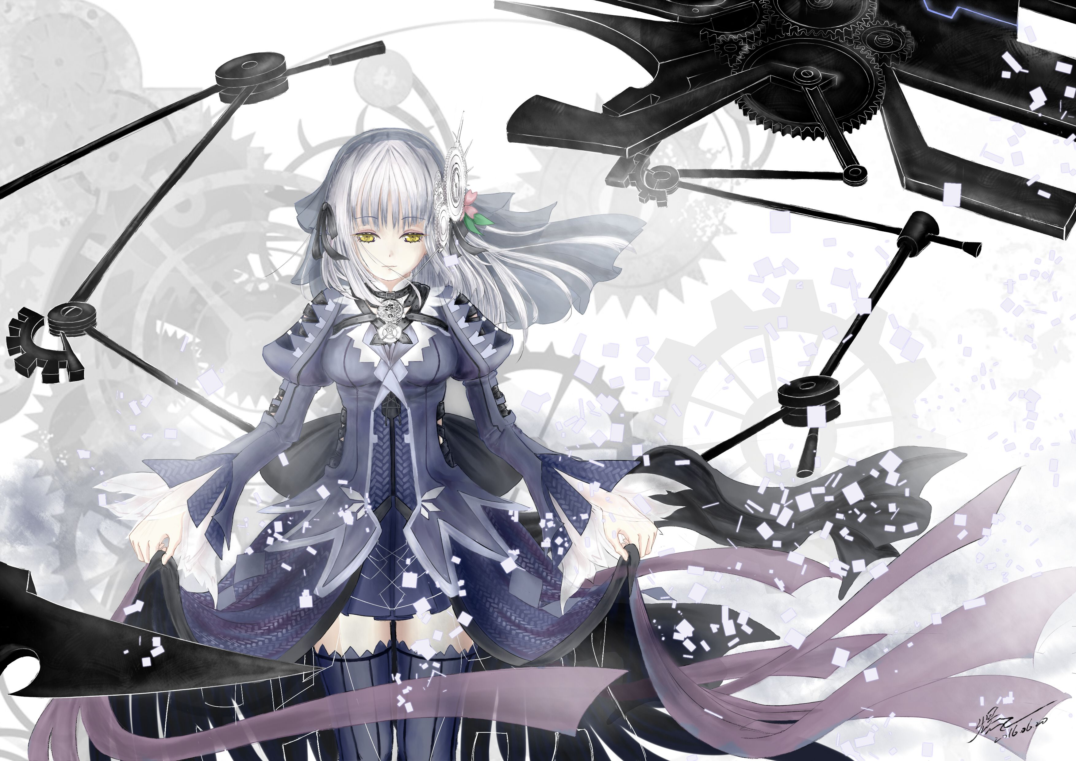 Pin de KURUMI en Clockwork Automatas, Anime