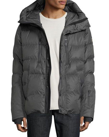 39de721a2 MONCLER RODENBERG HOODED PUFFER COAT, CHARCOAL. #moncler #cloth ...