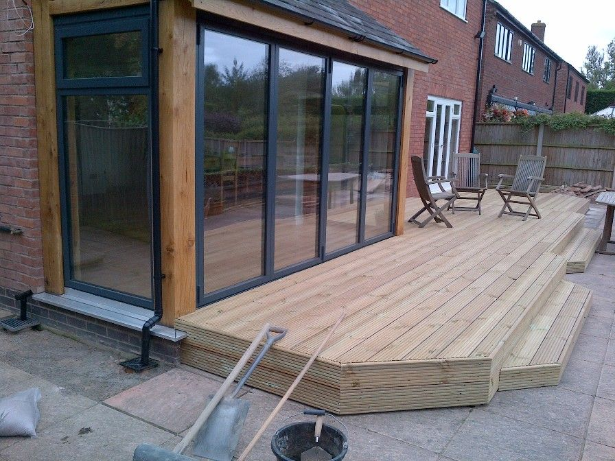 Extensions With Bifold Doors Oak Framed Extension More