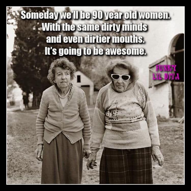 Friendship image by horsedizzy old lady humor fun