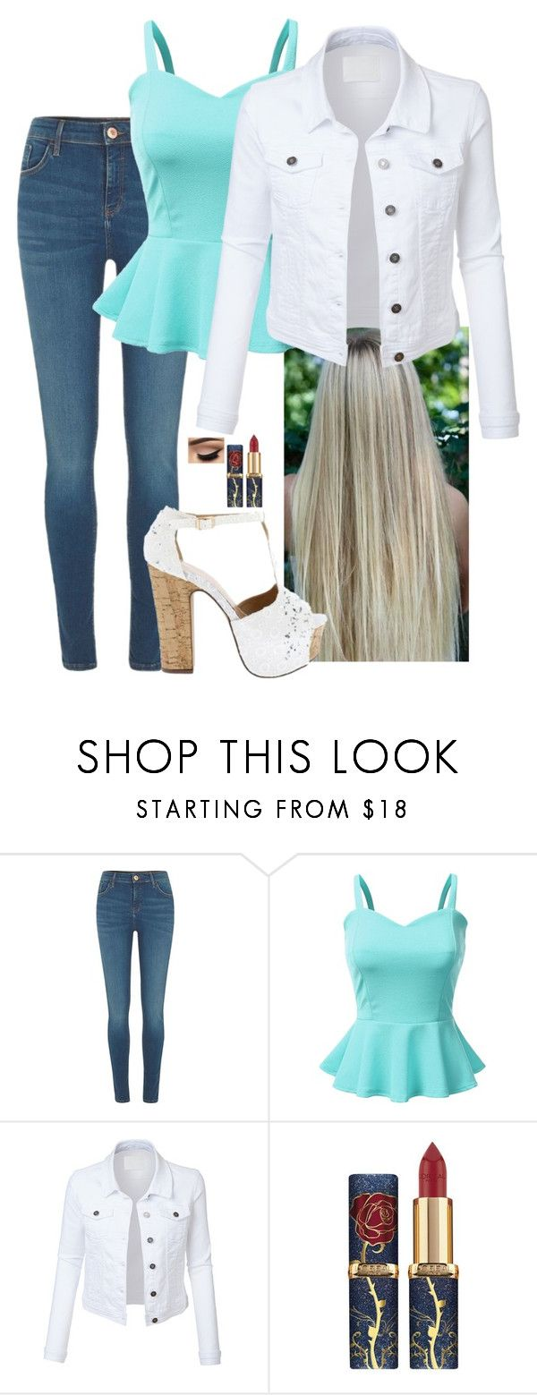 """""""Untitled #169"""" by emily-teigen on Polyvore featuring River Island, Doublju and LE3NO"""