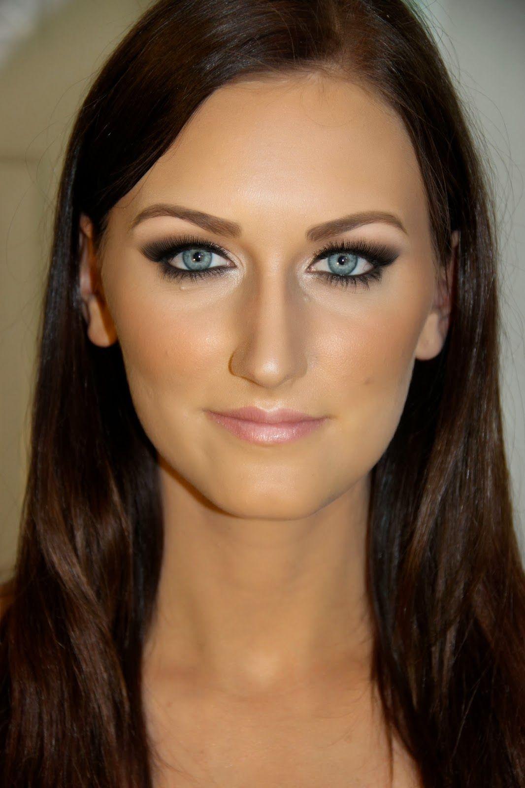 makeup for blue eyes   b e a u t y   m a k e u p   eye liner