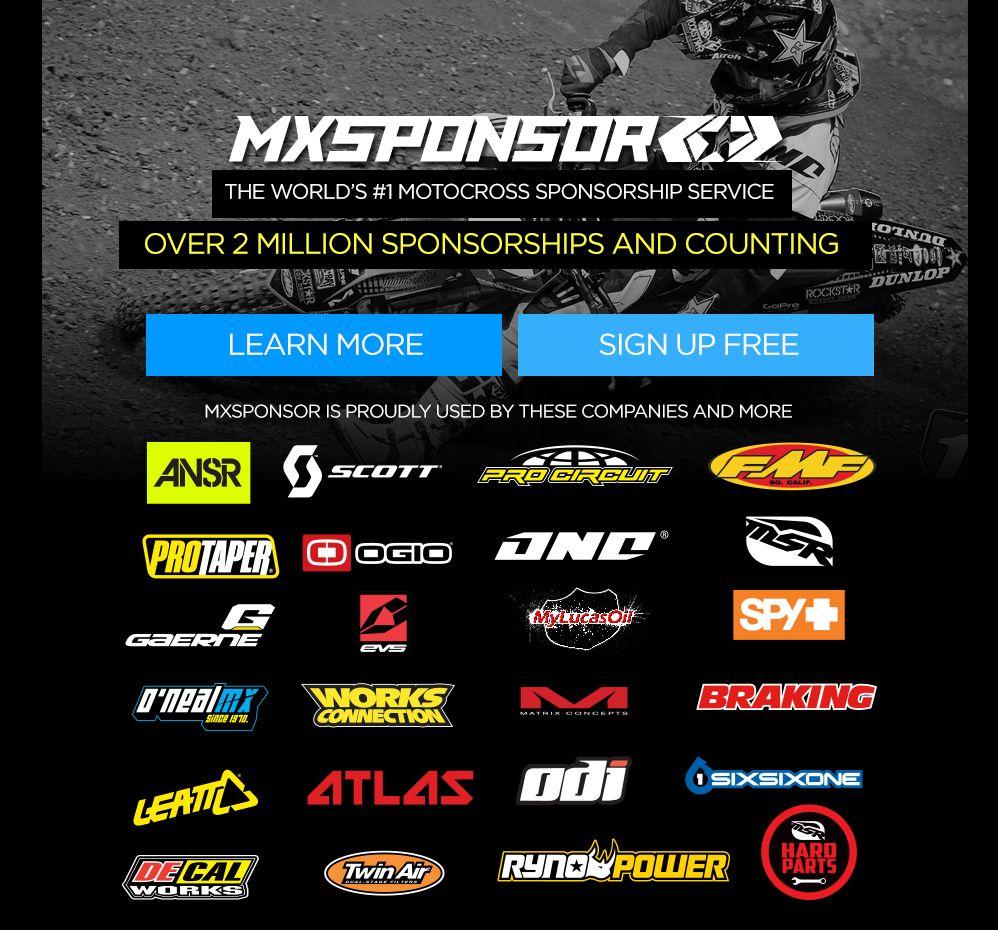 Motocross Sponsorship Motocross Sponsorships Mx Sponsorships How To Get Sponsored Mx Sponsors Get Sponsored Sponsorship Sec Motocross Sponsorship Sponsor
