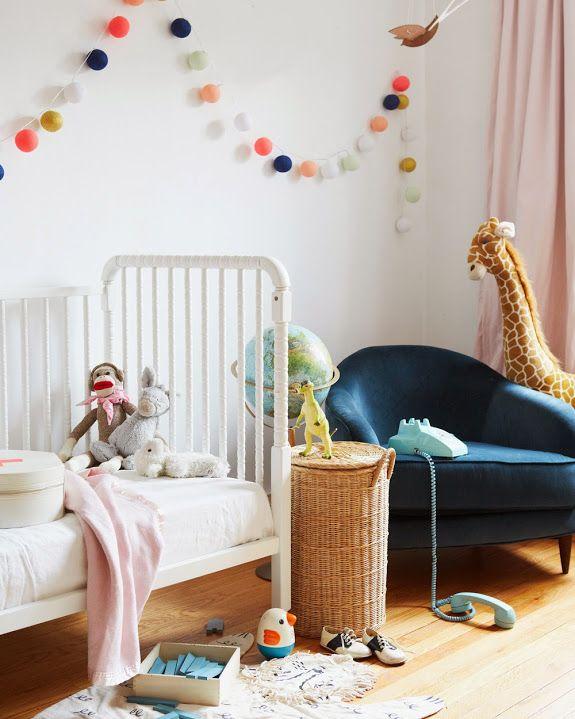 A CUP OF JO Pretty String Lights Nursery Decor Pinterest - String lights for kids bedroom