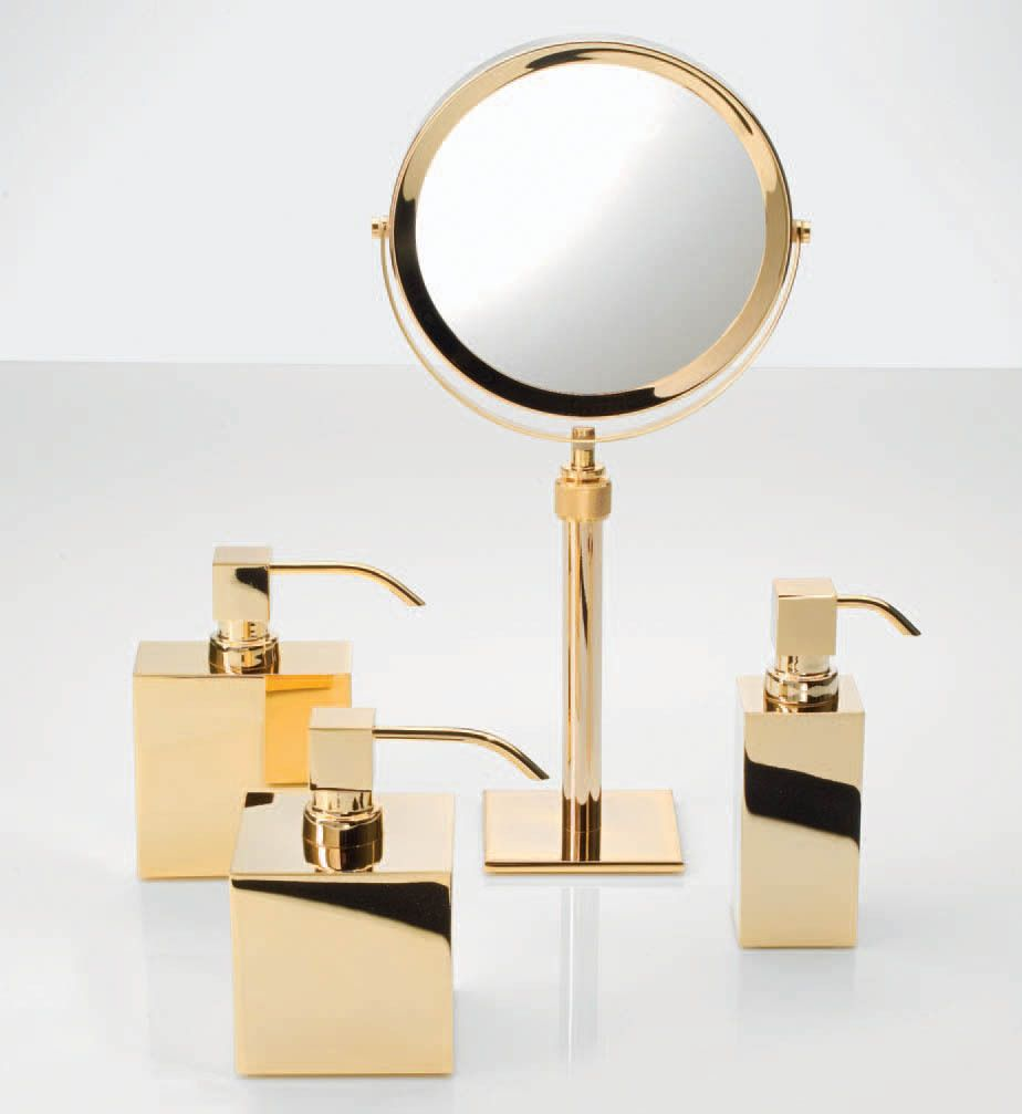 gold bathroom accessories | 卫浴 | Pinterest | Gold bathroom ...