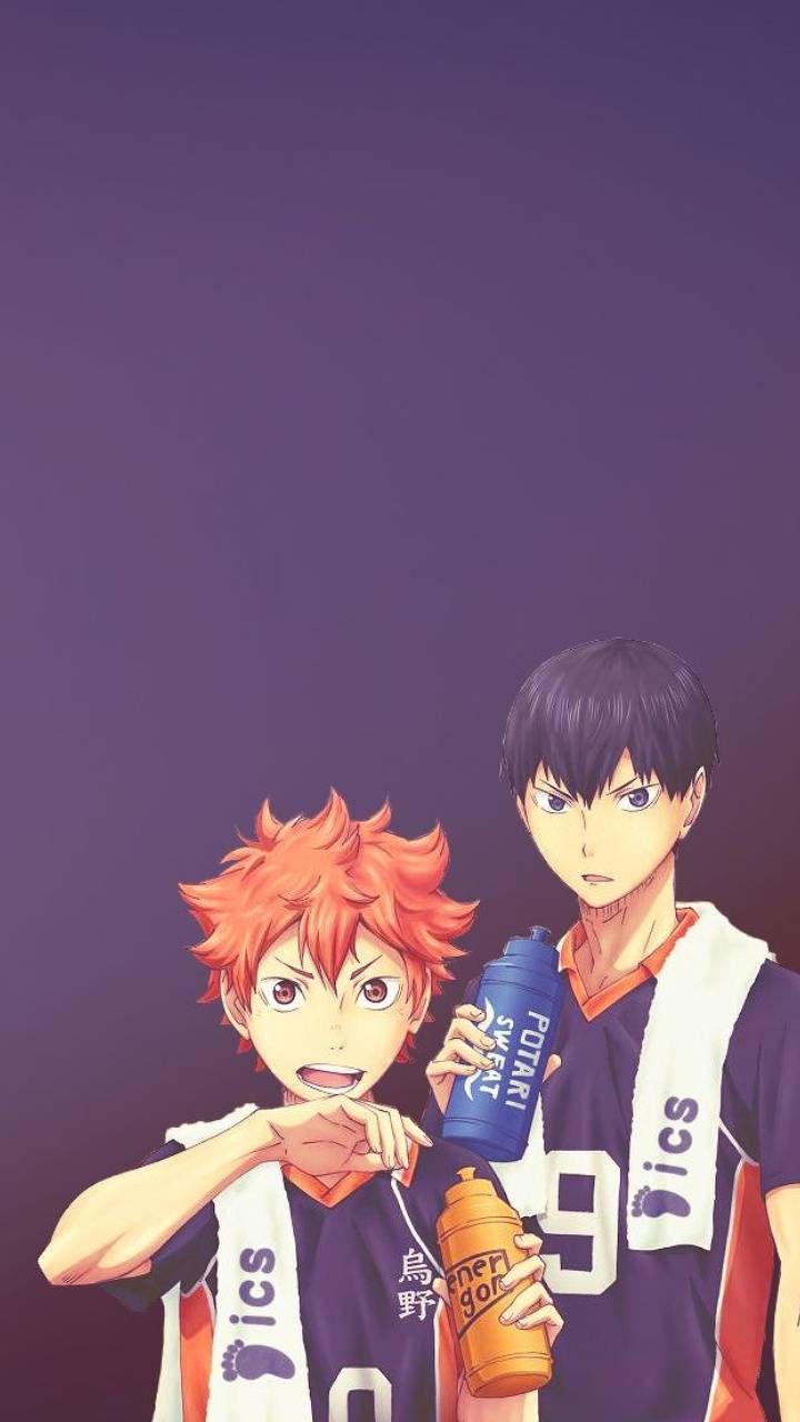 Hinata and Kageyama wallpaper by Lioneldragon - 0f - Free on ZEDGE™