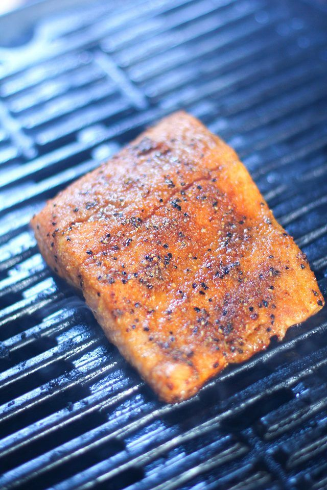 How To Perfectly Grill Salmon With Its Skin On Grilled Salmon