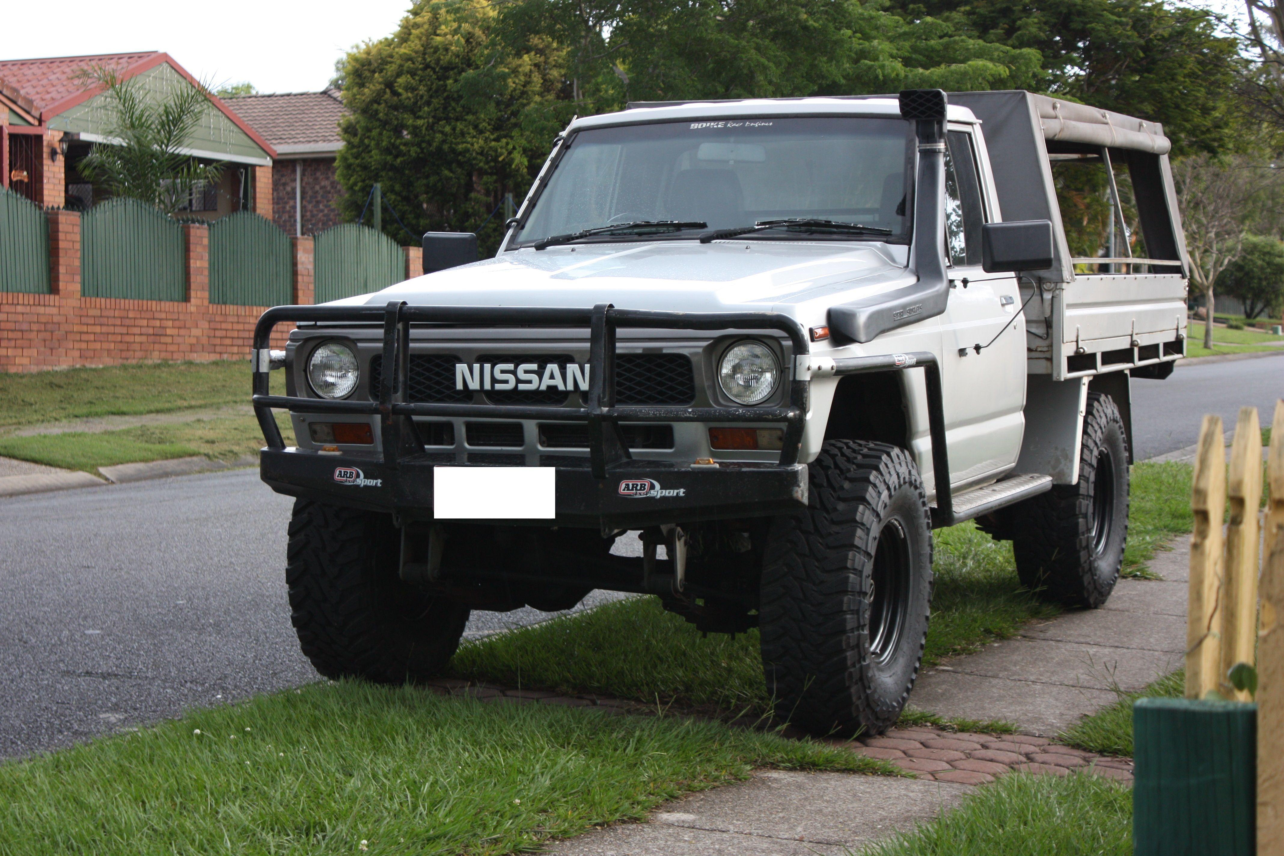 my leaf sprung junker patrol 4x4 nissan patrol forum nissan patrol cab chassis. Black Bedroom Furniture Sets. Home Design Ideas